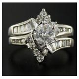 14kt Gold 2.02 ct Brilliant Diamond Bridal Set