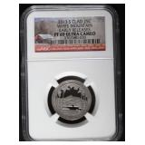 2013-S White Mountain PF69 Ultra Cameo Quarter