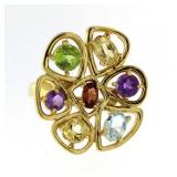 Genuine 3.00 ct Gemstone Designer RIng