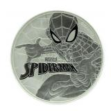 2017 Marvel Spider-Man 1 Ounce Pure Silver Coin