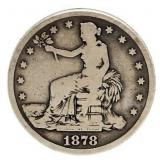 Rare 1878-S Seated Liberty Trade Silver Dollar
