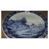 Large Delft platter