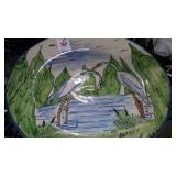 Large decorative platter
