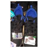 Boys size 4 light up Runners blue and black