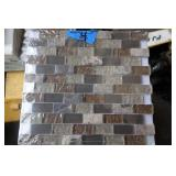 4 sq ft of Glass Mosaic Tile