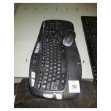 Used wireless keyboard and mouse No transceiver