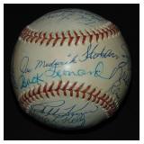 Hall of Fame Signed Baseball. PSA Certificate.
