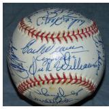 1974 All Star Signed Baseball. PSA.