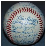 Hall of Fame Signed Baseball.