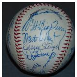 Hall of Fame Weekend Signed Ball. PSA.