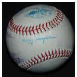 1912 Boston Red Sox Reunion Ball. PSA.
