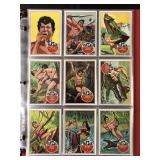 "1966 Philadelphia Gum ""Tarzan"" Complete Set (66)"