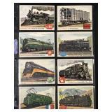 """1955 Topps """"Rails & Sails"""" Partial Set (193)"""