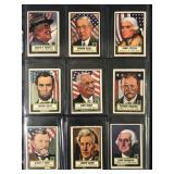 """1952 Topps """"Look N See"""" Near Complete Set (134)"""