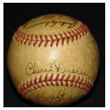 1951 Brooklyn Dodgers Signed Ball. PSA.