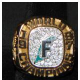 1997 Florida Marlins Championship Ring.