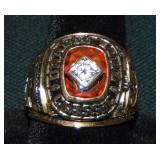 1978 Oklahoma Sooners Orange Bowl Ring.