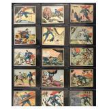 Lot of (20) 1940 Gum, Inc. Superman R145 Cards