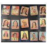 1933 Goudey Indian Gum Card Lot of (90)