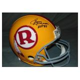 Sonny Jurgensen Signed Redskins Football Helmet