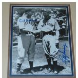 Carl Hubbell & Lefty Gomez Dual Signed Photograph