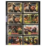 """1956 Topps Western """"Round-Up"""", Partial Set (57)"""