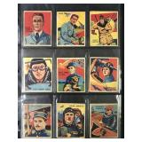 """1933 National Chicle """"Sky Birds"""" Partial Set (90)"""