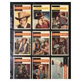 "1958 Topps Western ""Gunsmoke"" Partial Set (61)"