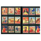 """Lot of 18 Goudey """"Indian Gum"""" Cards"""