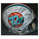 1972 Dolphins Perfect Season Team Signed Helmet