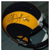 Eric Dickerson Signed Los Angeles Rams Helmet