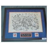 Islanders Multi Signed Stanley Cup Champions Print