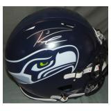 Russell Wilson Signed Seattle Seahawks Helmet