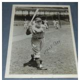 Circa 1940 Mel Ott Signed Photograph