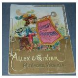 """1888 Allen & Ginter """"World"""