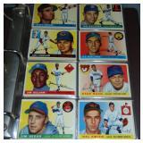 1955 Topps Baseball Card Near Set.