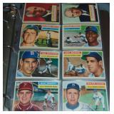 1956 Topps Baseball Card Set 340 Cards.