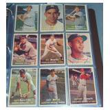 1957 Topps Baseball Card Set.
