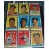 1958 Topps Baseball Card Set.