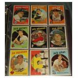 1959 Topps Card Set.