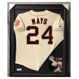 Willie Mays Signed San Francisco Giants Jersey