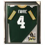 Brett Favre Signed Green Bay Packers Jersey