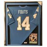 Dan Fouts Signed San Diego Chargers Jersey