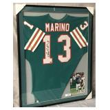 Dan Marino Signed Miami Dolphins Jersey