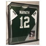 Joe Namath Signed New York Jets Jersey