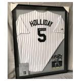 Matt Holliday Signed Colorado Rockies Jersey