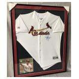 Mark McGwire Signed St. Louis Cardinals Jersey