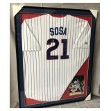 Sammy Sosa Signed Chicago Cubs Jersey