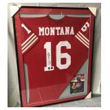 Joe Montana Signed San Francisco 49ers Jersey