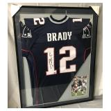 Tom Brady Signed New England Patriots Jersey
